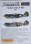 X48163  1/48 Curtiss P-40B Tomahawk Pt 2 decals (6)